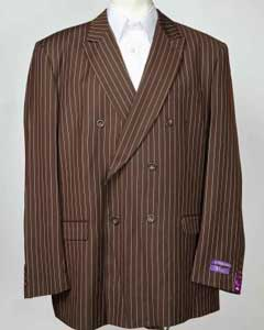 brown color shade Pinstripe