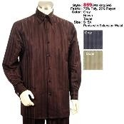 WK642 2PC Set trendy casual 1940s Mens Suits Style