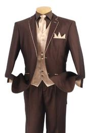 Tuxedo Fashion Elegance brown