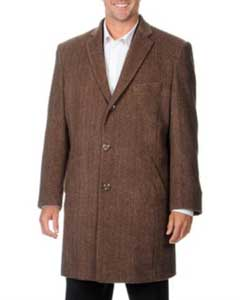 VK-518 Pronto Moda Car Coat Ram Light brown color