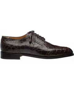 SM741 Ferrini Leather Sole And Heel Italian Lace Up