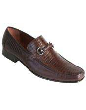 Brown Dress Shoe Mens Los
