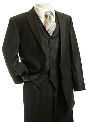 3pc Suit brown color shade