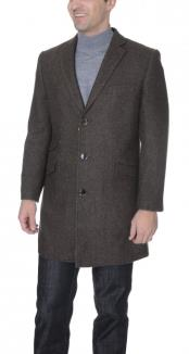 Herringbone Tweed Wool Blend