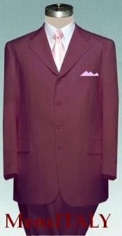 WOT443 Solid Burgundy ~ Maroon ~ Wine Color non-Vented