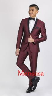 Product#RM1869Burgundy~Wine~MaroonSuitorTuxedo