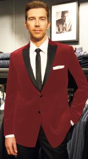 RE-52 Velvet Velour Blazer Online Sale Formal formal tux