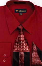 SW903 Milano Moda Classic Cotton Dress Shirt with Ties
