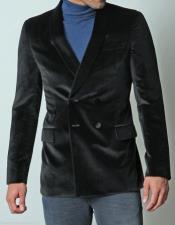 RM1344 KGN Fashion Dinner trendy casual Velvet Coat Jacket