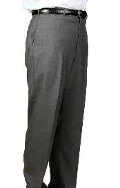 Medium Charcoal Parker Pleated