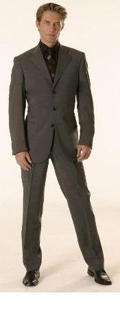 KA1132 Gianni Dark Grey Masculine color Gray Superior Fabric