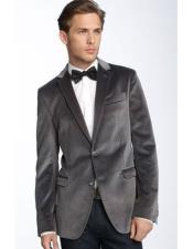 Product#JSM-6743MensGray~Grey2ButtonSingle