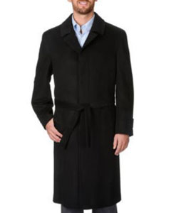 PN-N51 Harvard Dark Grey Masculine color Cashmere Blend Long