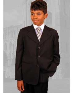 B-100KidsBoysbrowncolorshadeBoysAndMenSuit
