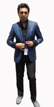 StylishSportcoat/BlazerOnlineSaleCobalt~Indigo~indigo~MetallicBlue