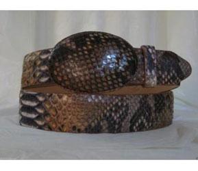 Rustic Cognac Python Snake