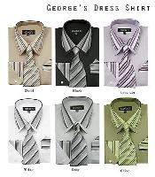 Classic Dress Shirt Set