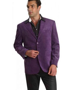 35590-J Patroncito Corduroy Purple color