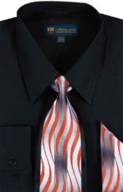 SW901 Milano Moda Classic Cotton Dress Shirt with Ties