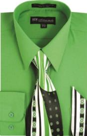 Green Dress Shirt