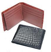FT8934 Ferrini Crocodile Billfold Wallet