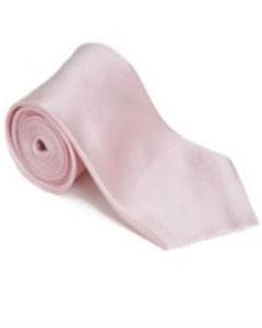 LJ311 Englishrose 100% Silk Solid Necktie With Handkerchief