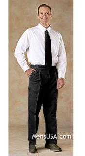 7V9E Pleated Slacks Pants / Slacks Plus White Shirt