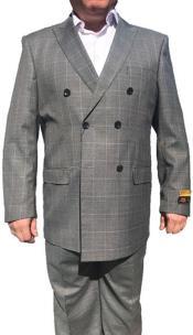 JSM-6747 Alberto Nardoni Best Mens Italian Suits Brands Double