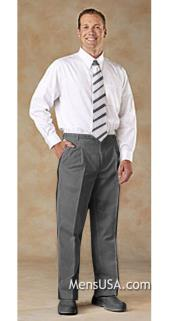 H4DD Pleated Slacks Pants / Slacks Plus White Shirt