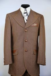 High Peak Lapel Tri Pocket