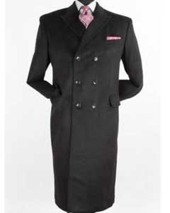 Mens Long Cashmere Overcoats & Jackets