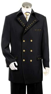 AC-954 Unique Metal Double Breasted Fashion Suit Eight Button