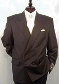 237 Double Breasted Suit 100% Wool Fabric Superior Fabric