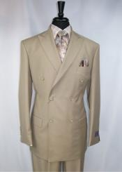 RM1403 Vinci Peak Lapel Double Breasted High back Vented