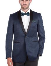 Mens Blue Slim Fit