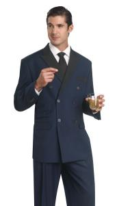 AC-907 Double breasted Tuxedo Dinner Jacket Blazer Online Sale