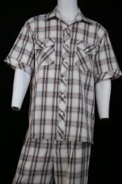 mens Dual Pocket Short Sleeve