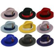 Premium Wool Fabric Fedora