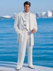 White Jacket + Pants