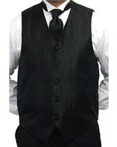 ER5600 Liquid Jet Black Four-piece Vest Set
