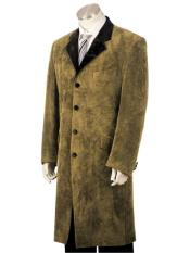 mens 3pc suit vested Brown