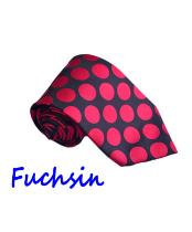 JSM-1441 Mens Longstry Fuchsin Fashion Jacquard Woven Design By