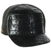 PN90 Genuine Ostrich Alligator skin Exotic Skin Baseball Cap