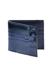 CarteraPielconcai~AlligatorskinWallet–Negro