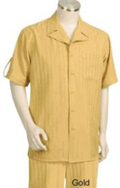 KA5123 Leisure Walking Suit Short Sleeve 2piece Walking Suit