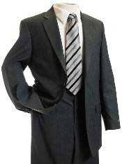 Gray TNT Pin Designer Suit