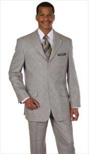 AC-786 Plaid Window Pane Houndstooth Pattern Grey/Tan khaki Color