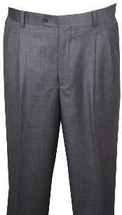 KL110 long rise big leg slacks Dress Pants Light