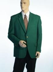 1832 Augusta Green Antique brass crest buttons Blazer Online