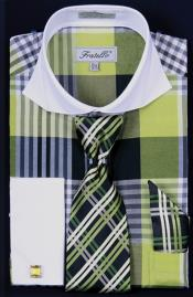 Cuff Dress Shirt Set